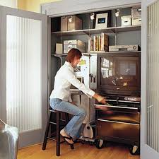 Small Space Office - Home office design ideas for small spaces