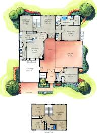 House Plans With Pools U Shaped Ranch House Floor Plans U Shaped House Floor Plans With