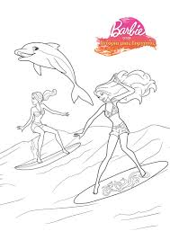 download coloring pages barbie mermaid coloring pages barbie
