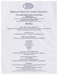 menu for brunch la ristorante italiano branford ct brunch