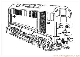 thomasthetrain 06 coloring free land transport coloring