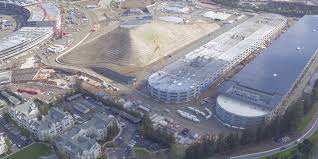 we now know why there u0027s a giant dirt pyramid on apple u0027s new campus