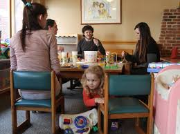 families celebrate the holidays at the ronald mcdonald house and
