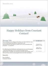 11 holiday email templates for small businesses u0026 nonprofits
