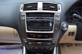 lexus used car warranty uk used lexus is 250 4 doors saloon for sale in chandlers cross