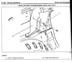 location of electrical grounds chevy trailblazer trailblazer ss