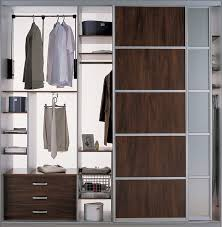 Modern Closet Sliding Doors Closet Organizer With Sliding Doors Modern Bedroom Toronto