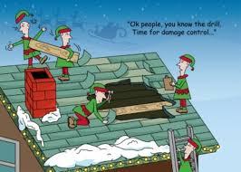 santa s roof repair card roofing cards