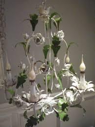 porcelain chandelier roses attracktive capodimonte porcelain chandelier vintage porcelain