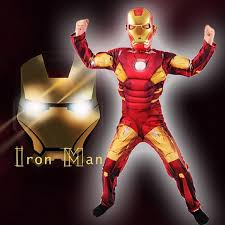 Halloween Costumes Iron Man Cosplay Costume Iron Man Costume Fancy Dress Costumes Kids