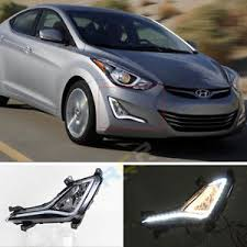 hyundai elantra daytime running lights exact fit led daytime running lights for hyundai elantra fog ls