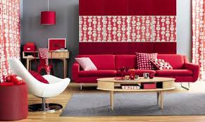 Pretty Looking Red Living Room Designs  Best Rooms Interior - Red living room design ideas