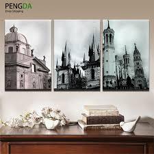 cadres chambre b pengda toile peinture mur décoratif photos cadres 3 pièces