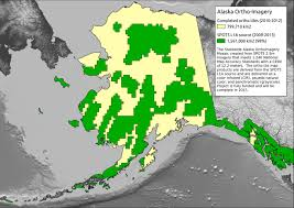 A Map Of Alaska by The National Map Alaska Mapping Initiative Alaska Digital Map Data