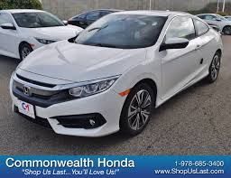 new 2017 honda civic coupe ex t 2dr car in lawrence h14935