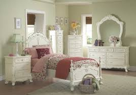 alluring furniture vintage bedroom decor and white color with