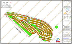 Islamabad Map Map Of Bahria Town All Phases And Blocks