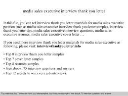 media sales executive