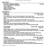 academic resume latex free samples examples u0026 format resume