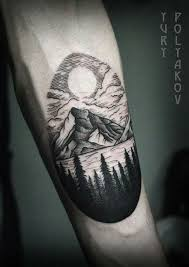 26 best forearm tattoo images on pinterest mountain tattoos