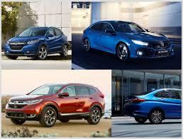 honda cars all models top 6 upcoming honda cars in india hr v civic city and others