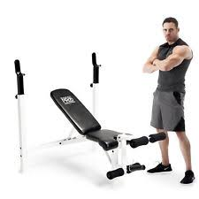 Mercy Weight Bench Olympic Marcy Strength Training Benches Ebay
