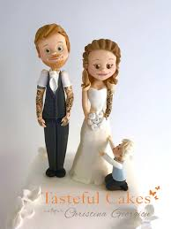 family wedding cake toppers cakes by georgiou a personalised family