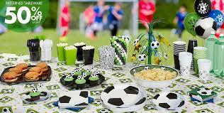 soccer party supplies soccer party supplies party city