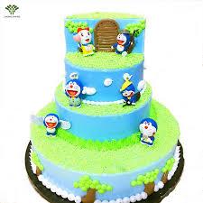 aliexpress com buy 6pcs doraemon birthday cake topper japan