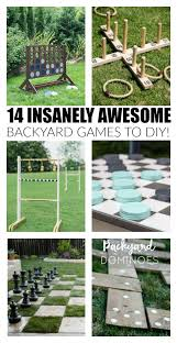 Outdoor Backyard Games 14 Insanely Awesome And Fun Backyard Games To Diy Now Backyard