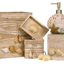 Seashell Bathroom Decor Ideas Seashell Bathroom Accessories Sets Office And Bedroom