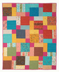 free modern patchwork quilt pattern disappearing nine patch