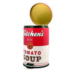 poubelle originale cuisine de cuisine tomato soup