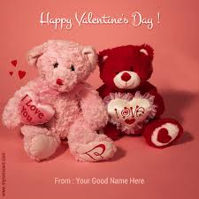 teddy valentines day happy s day wishes with teddy image wishes