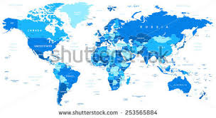 world map political with country names free country name stock images royalty free images vectors