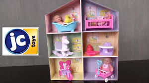 lots to love babies 5 inch dolls and accessory play house gift set