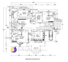 Free Home Plan 3820 Sq Ft Kerala Home Design Based Western Design Villa Plan