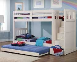 Bunk Bed With Trundle Kids Bunk Beds With Trundle Latitudebrowser