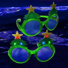 led tree glasses light up glasses