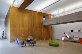 minimalist office modern interior design of modern studio interior