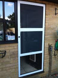 Sliding Screen Patio Doors Sliding Screen Door With Built In Pet Ready Exterior Doors