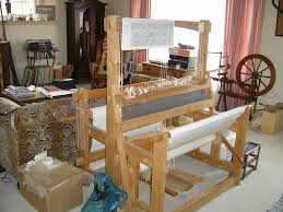 homemade floor loom