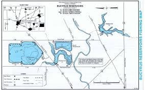 Map Of Mansfield Ohio by Bucyrus Reservoirs