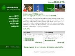 informational website templates free website templates with education science theme 1