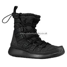 womens black boots sale fashion boots nike roshe one hi sneakerboot womens black shoes