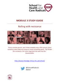 for health and care radicals module 3 study guide 2016
