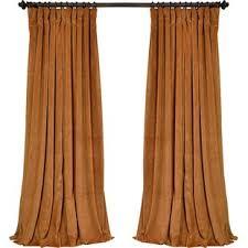 Gold Velvet Curtains Velvet Yellow Gold Curtains Drapes You Ll Wayfair
