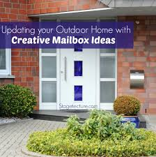 mailbox ideas updating your outdoor home