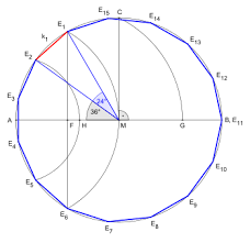 What Is The Interior Angle Of A Regular Decagon Pentadecagon Wikipedia