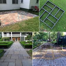 Patio Block Molds by 50cm Paving Brick Patio Concrete Slabs Path Pathmate Garden Walk
